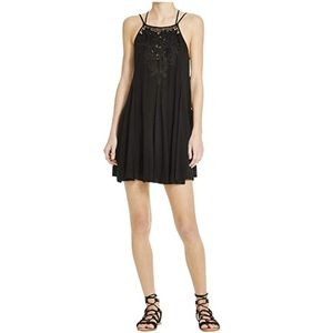 Lush Strappy Lace Front MiniDress